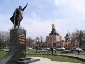 Памятник и Храм во имя князя Александра Невского