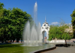 Зеркальная струя Харьков