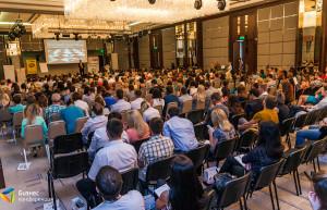 Бизнес-конференция «Менеджмент. Маркетинг. Продажи – 2015» зал