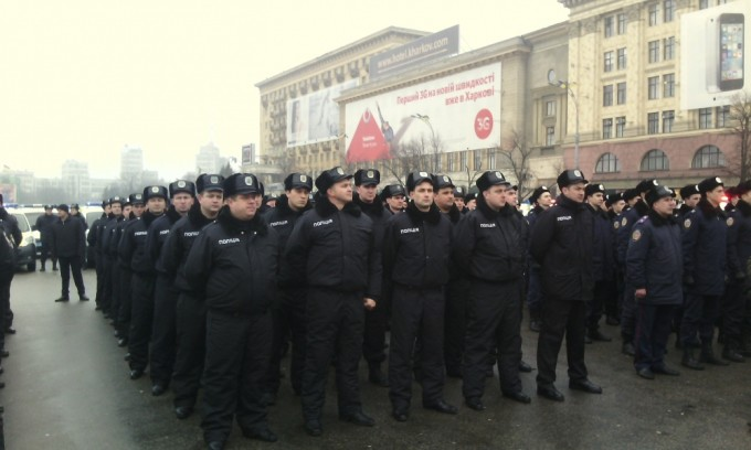 копы в Харькове