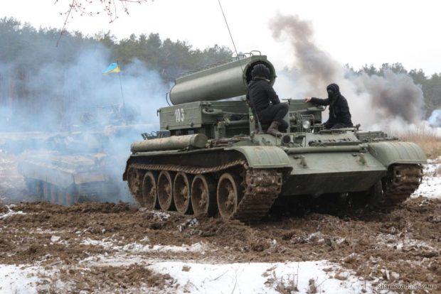В Харьковской области прошли комплексные тактические занятия с бойцами территориальной обороны