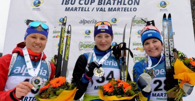 Харьковская биатлонистка победила на этапе Кубка Европы