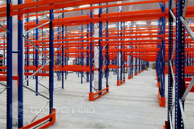 Принципы расположения стеллажей на складе
