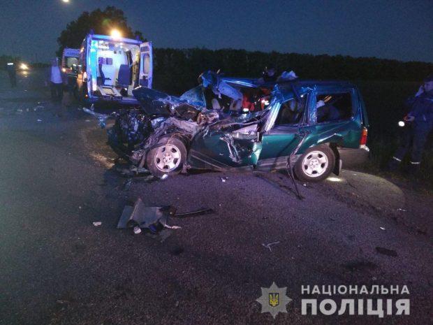 В результате ДТП на Харьковщине погиб водитель Subaru