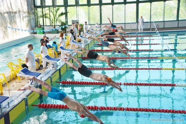 На чемпионате Украины по плаванию харьковчане завоевали 28 наград