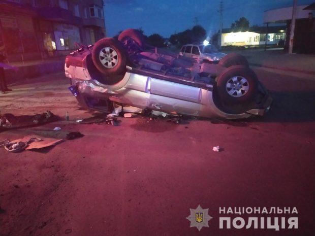 В Харьковской области за сутки произошло 38 дорожно-транспортных происшествий
