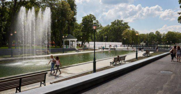 В саду Шевченко появится новый фонтан