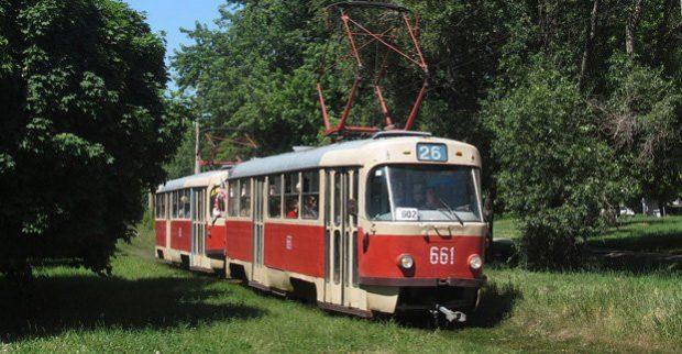 Трамваи №16 и 26 два дня курсируют по измененному маршруту, 16А - не ходит