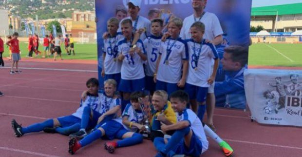 Юношеская футбольная команда из Харькова выиграла турнир в Испании