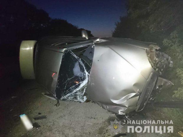 Под Харьковом в результате лобового столкновения погиб водитель