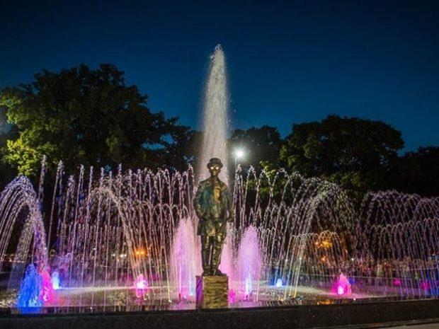 Харьковский горсовет потратит более двух миллионов евро на реконструкцию фонтана в саду Шевченко