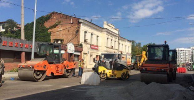 Завершается реконструкция улицы Клочковской