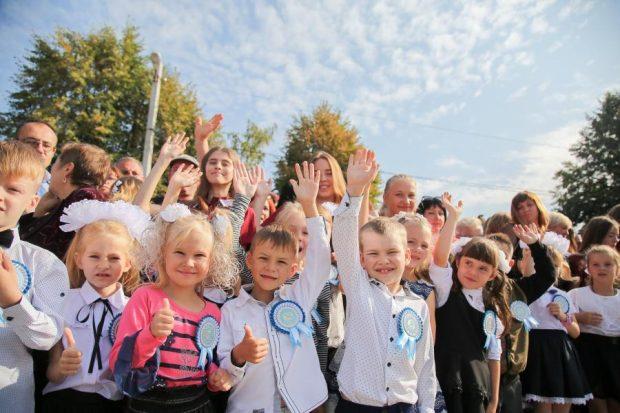 В первые классы на Харьковщине пошли более 25 тысяч школьников