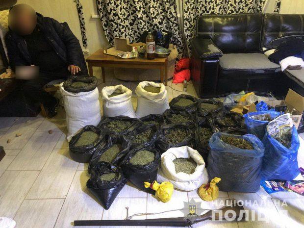 Полиция Харькова перекрыла канал распространения наркотических средств в особо крупных размерах