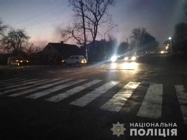 На Харьковщине столкнулись «ВАЗ-2121» и скутер