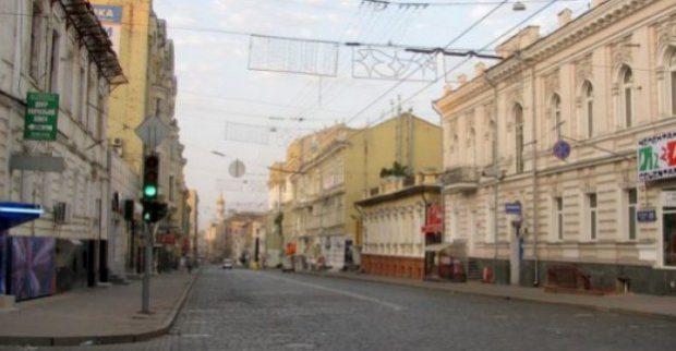 В понедельник из-за шествия по улице Сумской запрещается движение транспорта