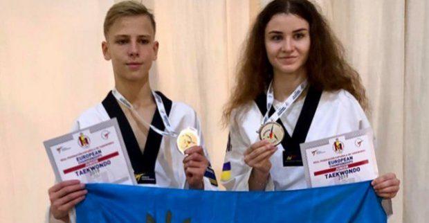 Харьковский тхэквондист стал серебряным призером чемпионата Европы