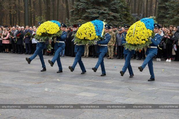 В Харькове отмечают 75-ю годовщину освобождения Украины