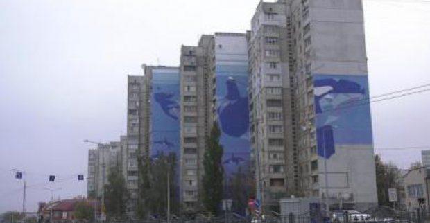 В Харькове появился мурал-рекордсмен