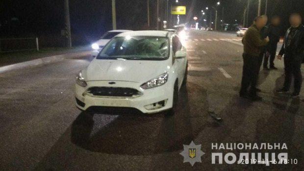 В Харькове под колесами автомобиля погибла женщина