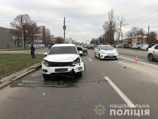 В Харькове в результате ДТП пострадали дети