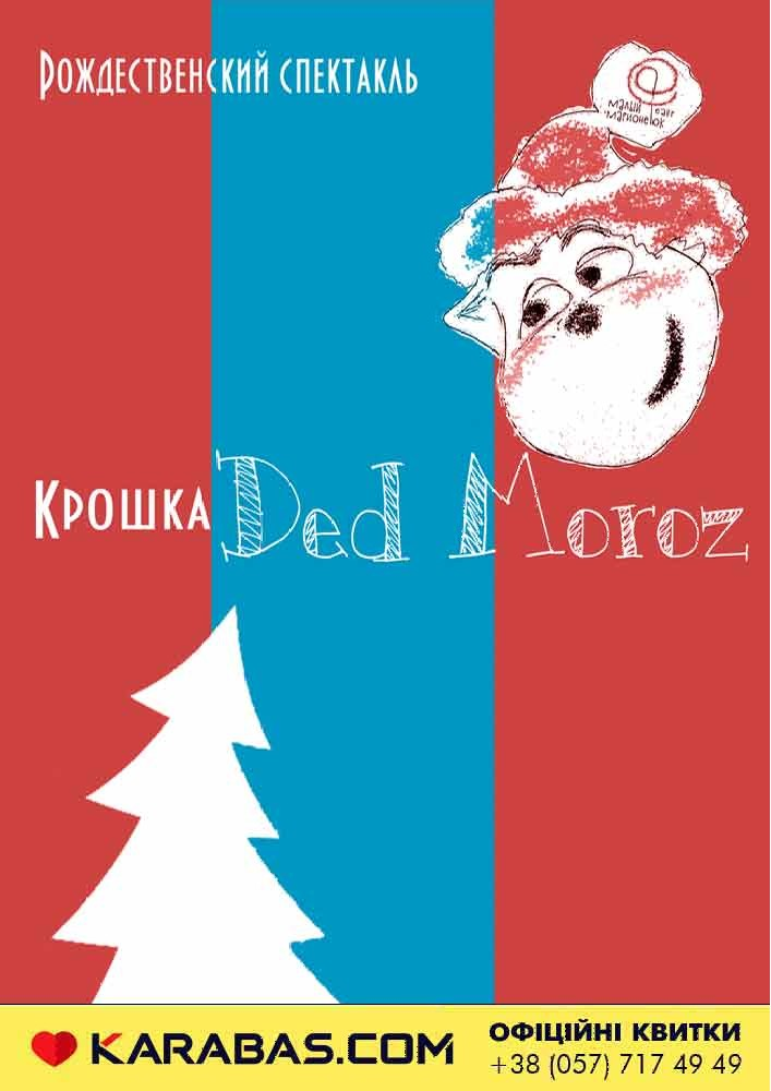 Малый Театр Марионеток. Рождественский спектакль «Крошка Ded Moroz» 3 плюс Харьков