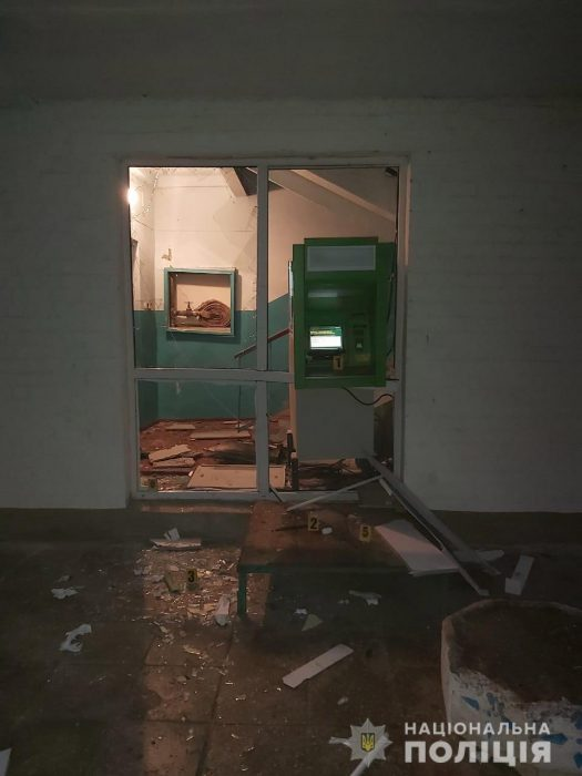 Взрыв банкомата в Харьковской области: в полиции рассказали о сумме украденных денег