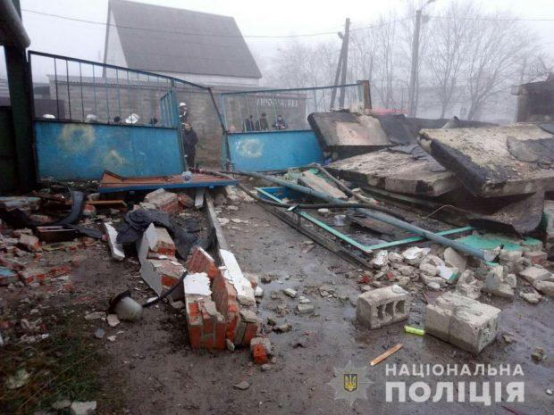 В Харькове в гаражном кооперативе взорвался газовый баллон: три человека погибли