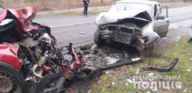На Харьковщине произошла авария со смертельным исходом