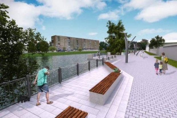 В Харькове готовятся к масштабной реконструкции набережной