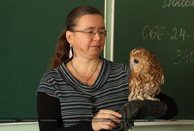 Сотрудники Харьковского зоопарка провели урок для учителей