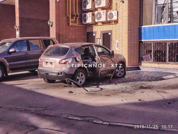 В центре Харькова взорвался автомобиль - соцсети