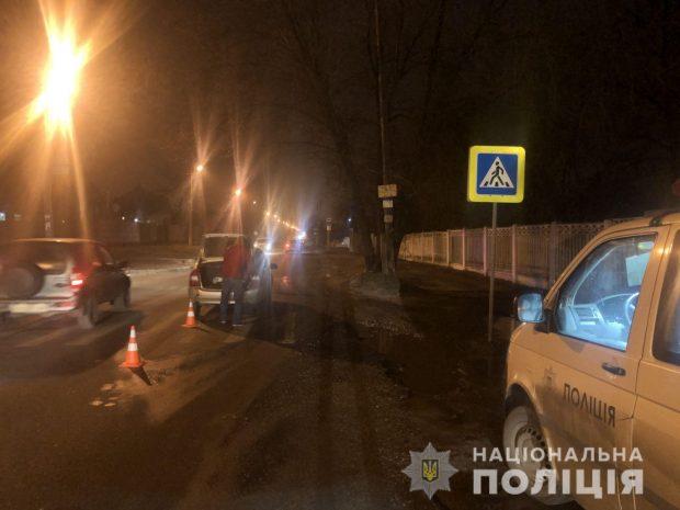 В Харькове под колеса автомобиля попала женщина-пешеход