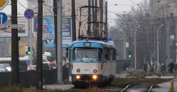 Трамвай №3 на один день изменит маршрут
